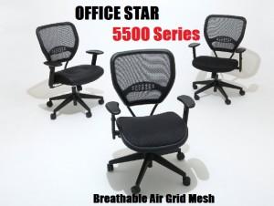 Breathable Air Grid Office Star