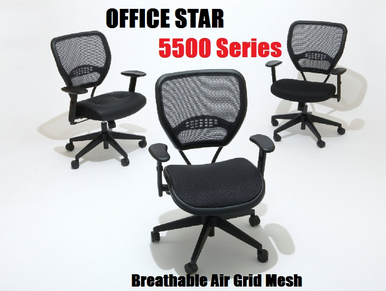 Breathable Air Grid Office Star