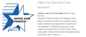 Office Star Executive