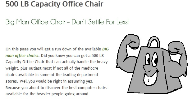 500 LBS Office Chairs