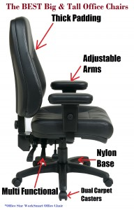 the best big and tall office chair reviews office chairs for heavy